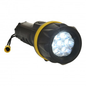 7 L.E.D Rubber Torch